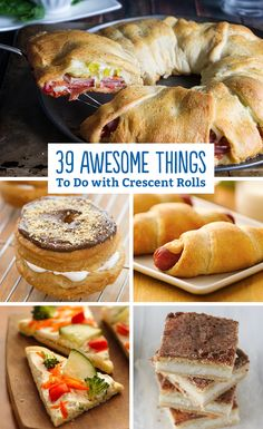 It all started with a humble (flaky, buttery, golden) dinner roll, then it became awesome! We've got our favorite roll-ups, dogs and ring recipes for you to make to your heart's content.