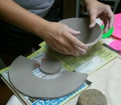 Hand Building Clay Techniques | These are some of the fun things you will learn: