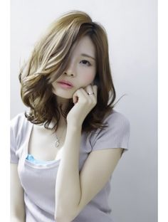 AMME【上鶴悠貴】フェミニンスモーキーアッシュ3