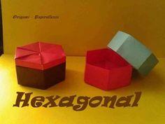 Origami - Papiroflexia. Caja hexagonal