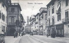 Verona - Via Cappello primi 900