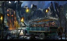 Skull Island Reign of Kong coming to Universal Orlando Summer 2016 heather@destinationsinflorida.com