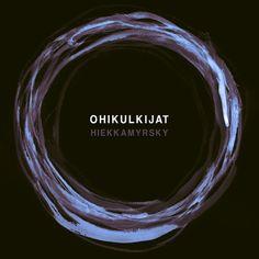 Hiekkamyrsky EP by Ohikulkijat. Cover art by Milla-Maria Joki (2014)