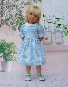 Pattern for a Summer Frock to fit Kidz 'n' Cats Dolls #1 by WellyBs on Etsy https://www.etsy.com/listing/170896884/pattern-for-a-summer-frock-to-fit-kidz-n