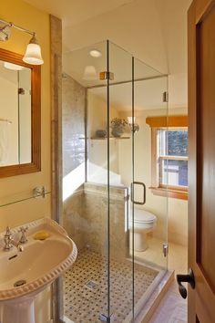 glass shower stall