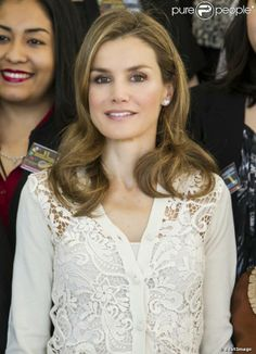 Princess Letizia hosted an Audience for participants at the First Latin American Meeting and inauguration of the Sixth National Congress on Rare Diseases in Totana