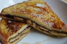 Το πιο εύκολο και γρήγορο γλυκό του χειμώνα: Τοστ με μπανάνες και σοκολάτα στο φούρνο!