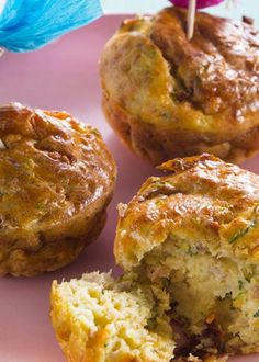 Cupcakes de atum e curgete