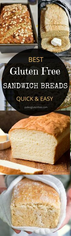 gluten-free sandwich breads