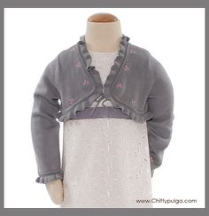 Tea Collection Gabriella shrug from Spain 2006 spring mini line