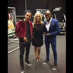 From Facebook Timor Steffens (Sept. 9 2015) '@rtldancedancedance wouldn't been the same with out these 2 amazing individuals! ‪#‎postshowpic‬ ‪#‎dancedancedance‬ ‪#‎show1' Timor Steffens with Chantal Janzen and Jandino Asporaat, hosts of the sensational danceshow 'Dance Dance Dance'. Timor developed the show together with John De Mol and is the artdirector. He's also one of the judges.