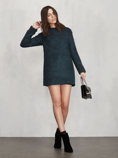 The Lokie Dress will keep you chic and also cozy on those colder days ahead. https://www.thereformation.com/products/lokie-dress-prato?utm_source=pinterest&utm_medium=organic&utm_campaign=PinterestOwnedPins