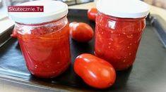 Pomidory jak z puszki (krojone i w całości) Savoury Baking, Kitchen Hacks, Preserves, Salsa, Veggies, Cooking, Recipes, Food, Bread