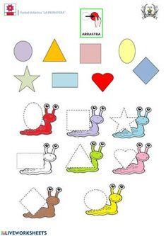 Preschool Learning Activities, Preschool Lessons, Preschool Worksheets, Toddler Activities, Preschool Activities, Color Activities, Senses Preschool, Math For Kids, Kids Education