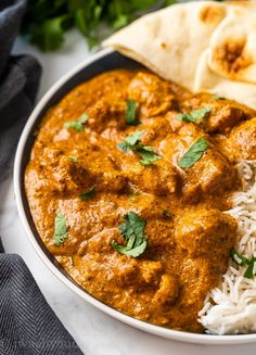 This authentic recipe for butter chicken is a quick and easy weeknight dinner. Best served over rice with naan bread on the side. Easy Indian Recipes, Asian Recipes, Authentic Indian Recipes, Indian Recipes For Dinner, Simple Recipes, Authentic Indian Butter Chicken Recipe, Authentic Indian Chicken Curry, Tika Massala, Butter Chicken Sauce