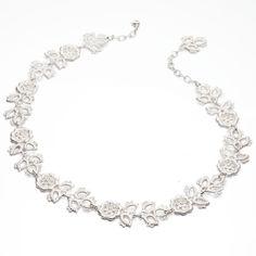 www.ORRO.co.uk - Brigitte Adolph - Silver Sleeping Beauty Necklace - ORRO Contemporary Jewellery Glasgow