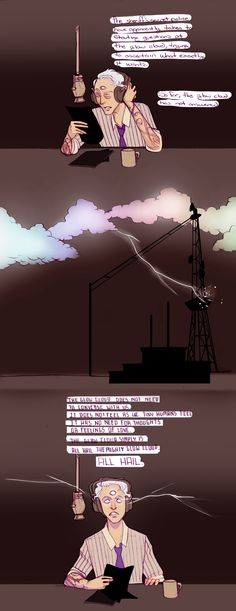 And now, slaves of the cloud, the weather. by Sour-Purple.deviantart.com on @deviantART