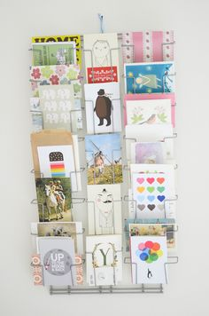 mail display for those great holiday cards!