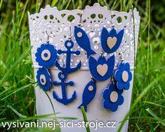Ozdobte se originálními náušnicemi, které si samy vyrobíte. Doplníte tak svůj letní outfit hezkým šperkem! / Návody na vyřezávání Cutting Plotter