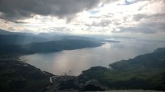 Dramatic view from 850m above Akyaka, looking south towards Marmaris.