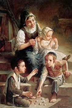 Children On The Stairs