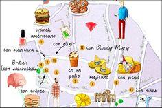 Brunch in Madrid (In Spanish) Madrid Restaurants, Spanish Courses, Spain Fashion, Brunch, City Landscape, Travel Scrapbook, Some Ideas, Go Shopping, Spain