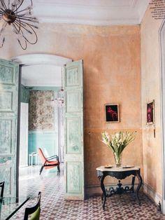 colour - tiles - door