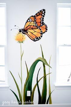 bug / insect kids playroom | greyhouseharbor.com