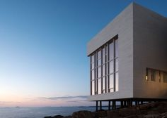 Beautiful  Fogo Island Eco hotel