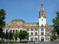 City Hall of Kiskunfélegyháza, Hungary