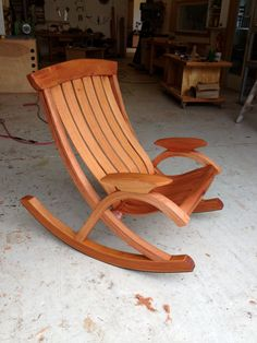 Sunniva Luxury Rocker | Brian Boggs Chairmakers