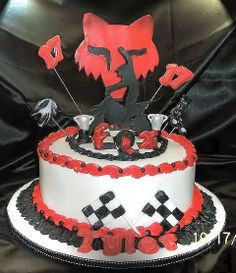 This A Cake For Friends Sons 17th Birthday He Does Motocross
