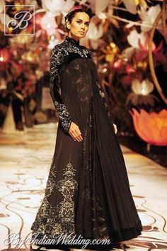 Rohit Bal black designer creation