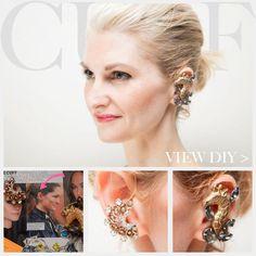 DIY Jewelry DIY Ear Cuffs : DIY Ear Cuff