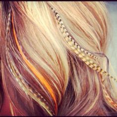 Loveee feather extensions