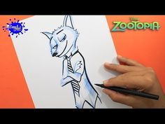 DRAWING ZOOTOPIA  l How to draw Nick wilde zootopia l Como dibujar a Nick wilde zootopia YouTube