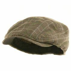 $15.81 Amazon.com: Fashion Plaid Ivy Cap - Brown W10S69F: Clothing