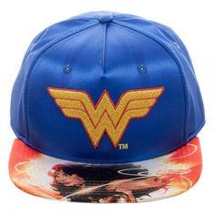 DC Comics Wonder Woman Satin Snapback