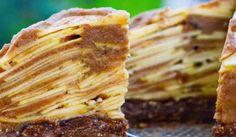 a slice of FullyRaw Apple Pie. A healthy, simple, and low-fat raw food vegan holiday pie you will love! Raw Vegan Desserts, Raw Vegan Recipes, Vegan Treats, Vegan Foods, Healthy Treats, Healthy Desserts, Dessert Recipes, Roh Vegan, Raw Cake