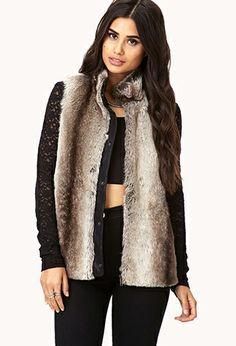 Chic Faux Fur Vest | FOREVER 21 - 2000074412