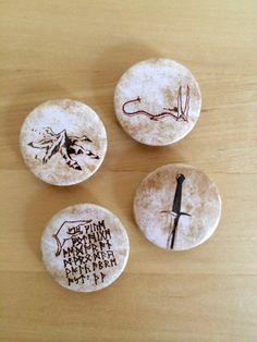The Hobbit Magnet Set by HoneysDead on Etsy, $8.00
