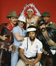 The Village People - 13 Bands That Think It's Always Halloween