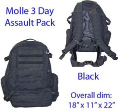 Official US Military Army Molle II Patrol Backpack            From Fort Bragg, NC. USA Military Surplus Molle II Patrol Backpack. Please be advised all used military surplus equipment may have markings on them such as names, numbers, color paint, etc. Sometimes we may miss a imperfection and will do our best to provide the closest condition listed. Pictures listed may not be t...  http://officialmilitarymollepatrolbackpack.hotproductsinusa.com