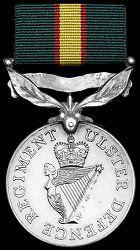ODM of the United Kingdom: Ulster Defence Regiment Medal United Kingdom, Campaign, British, Military, The Unit, Decorations, World, Dekoration, England