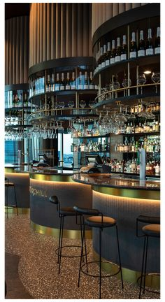 Pub Interior, Bar Interior Design, Restaurant Interior Design, Restaurant Interiors, Restaurant Furniture, Luxury Restaurant, Restaurant Lounge, Bar Lounge, Luxury Hotel Design
