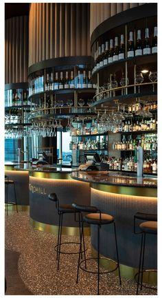 Pub Interior, Bar Interior Design, Design Exterior, Restaurant Interior Design, Restaurant Interiors, Modern Interior, Cafe Bar, Bar Pub, Luxury Restaurant
