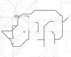 Hornchurch the Rhino. | 22 Animals Who've Been Hiding Out In The London Underground Map #mapgeek @BadgerMaps