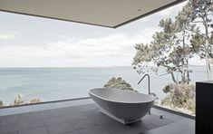Bath tub with view!