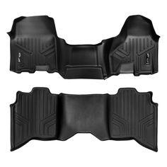 2014-2019 Chevrolet Trax SMARTLINER Custom Fit Floor Mats 2 Rows and Cargo Liner Set Black for 2013-2019 Buick Encore