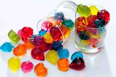 I ♥ Jelly discovered by Zuzia on We Heart It Cute Desserts, Cooking With Kids, Jelly Beans, Akita, Sweets, Candy, Recipes, Food, Children